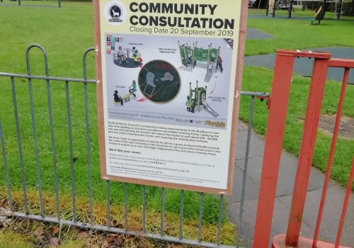 Consultation on Bradburn's Lane Play Area Development