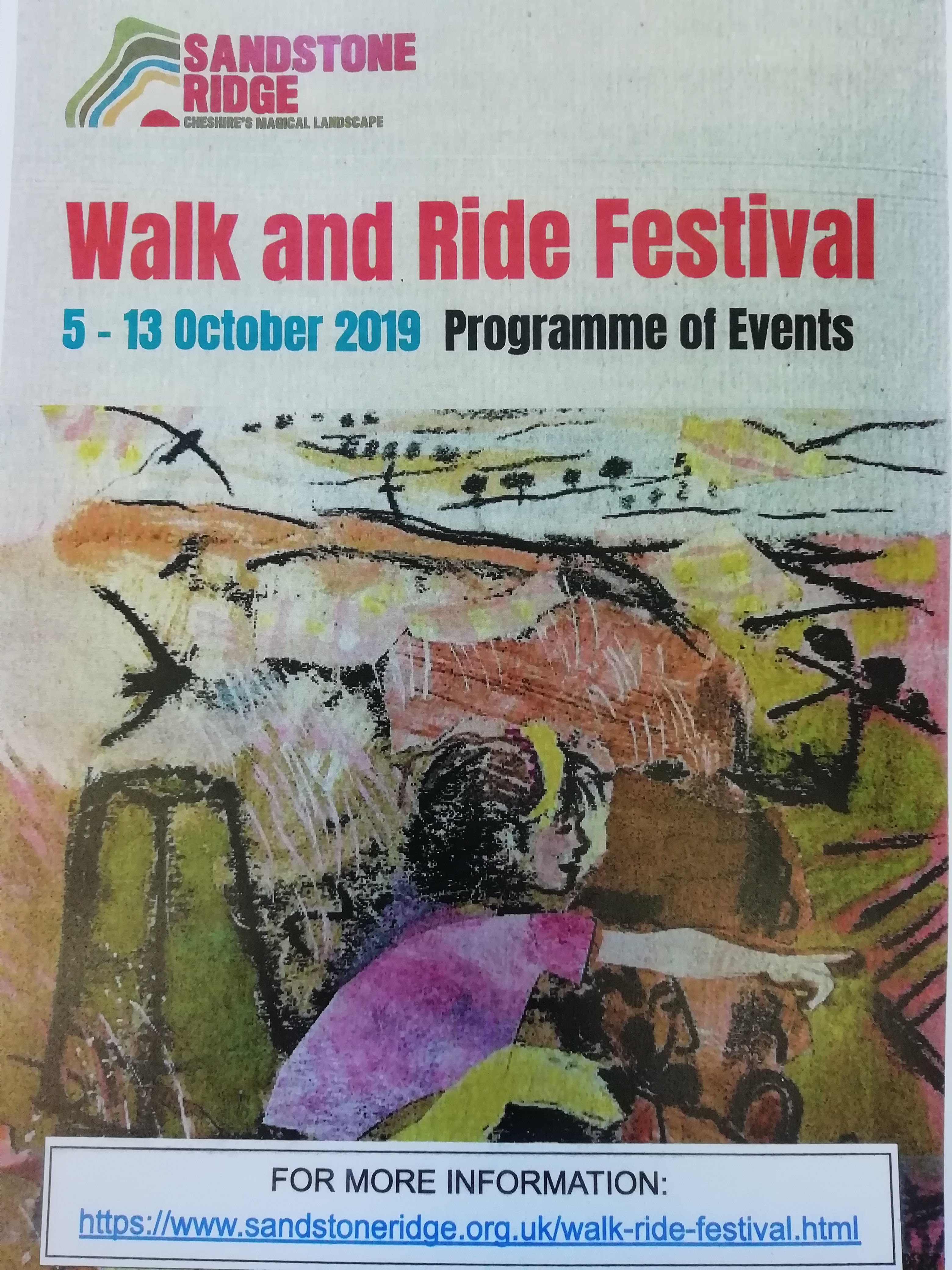 Walk and Ride Festival – 5-13 October 2019