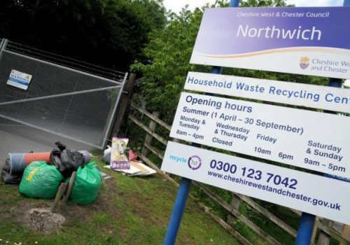 CWAC Close Recycle Centres