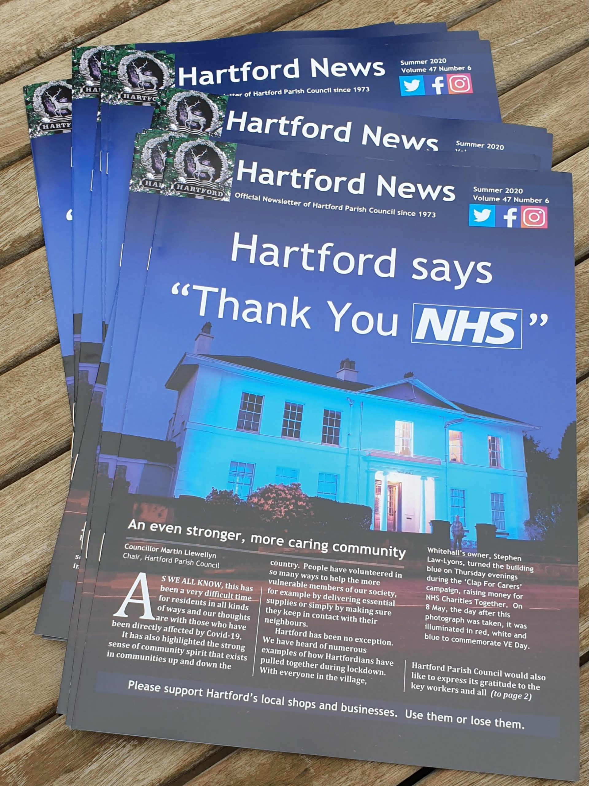Hartford News – July Edition