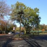 Picture of the main crossroads in Hartford, Cheshire.