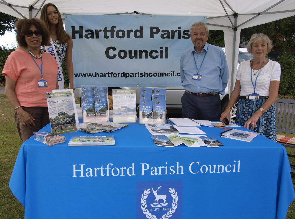 Picture of Hartford Parish Councillors